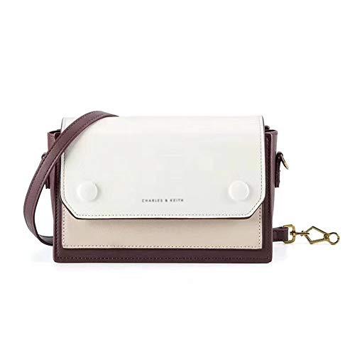 Bag vrouwelijk 2018 Nieuwe Europa en Amerika kleine zitzak qua kleur bijpassende kleine vierkante tas Schouder Messenger Bag