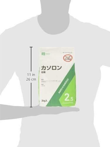 『アグロカネショウ 除草剤 カソロン粒剤2.5% 3kg』のトップ画像