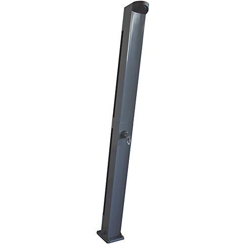 Fluidra doccia solare, scaletta per piscina, in acciaio INOX, 4gradini, colore: Argento/Grigio, 213x 16.6x 14.5cm, M00493