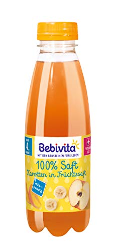 Bebivita Karotten in Früchtesaft, 6er Pack (6 x 500 ml)