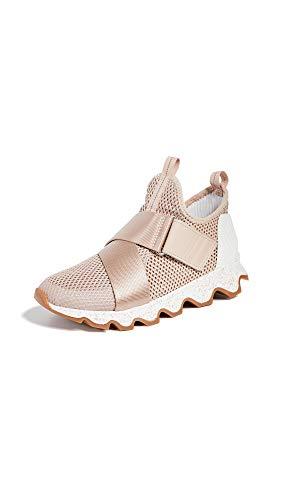 Sorel Women's Kinetic Sneakers, Natural Tan, 8 Medium US