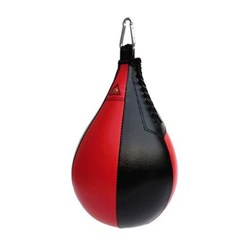 LIOOBO Boxen Boxbirne Boxsack Boxen Training Ball Speedball Punchingball zum Aufhängen Speedbag für Boxentraining und Fitness