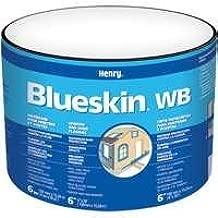Henry BH200WB4559 Blueskin Weather Barrier Self-Adhesive Waterproofing Membrane, 50' Length x 4 Width by Henry