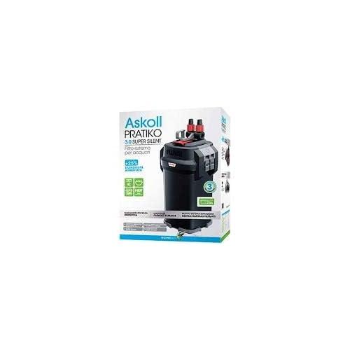 Askoll Pratiko 400 3.0 Super Silent Filtro Esterno per acquari Fino a 430 Litri New 2019