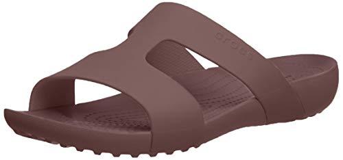 Crocs Slide Mules Femme, violet, 42/43 EU