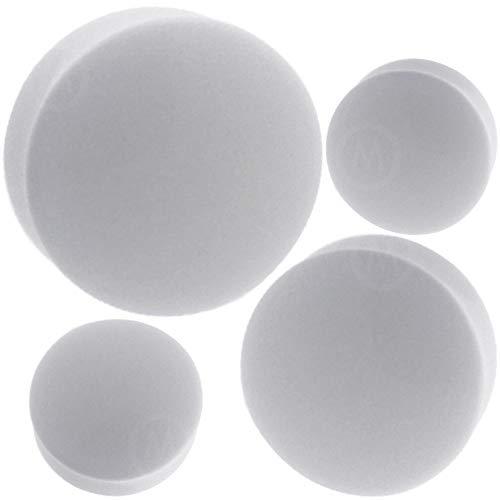 white 1 2 inch plugs - 3