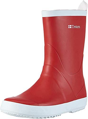 Tretorn Wings, Botas de Agua para Mujer, Rojo-Rot (Red 050), 41 EU
