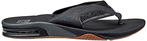 Reef Men's Fanning Flip Flop, Tan Topo, 7