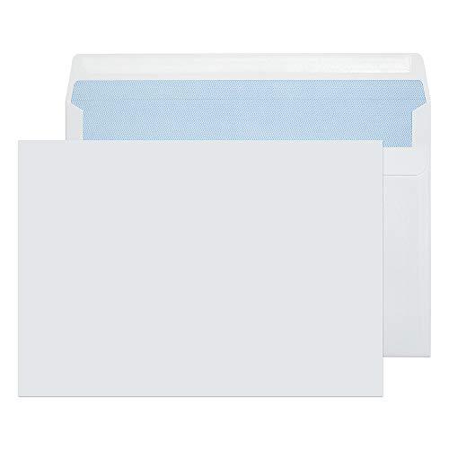 Purely Everyday 1707 Briefumschläge selbstklebend Weiß C5 162 x 229 mm - 90g/m² | 500 Stück