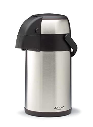 Michelino 3 Liter Getränkespender Pumpkanne - Größenauswahl (M)