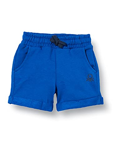 United Colors of Benetton (Z6ERJ) Bermuda 3J68I0638 Pantaloncini, Bluette 19R, 2Y Bimbo 0-24
