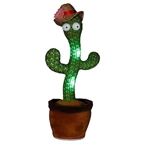 Cactus Knuffel Elektronisch Dansen Dansen Speelgoed Met Lied Leuke Pluche Dansende Cactus Speelgoed Met 120 Chinese En Engelse Liedjes