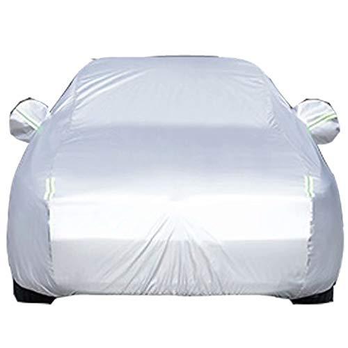 QCYP Cubierta de Coche Adecuado para Audi A6 sombrilla a Prueba de Lluvia Cubierta Exterior Coche Artículos de Verano e Invierno para automóviles