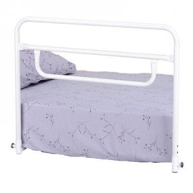 Sponda letto universale in acciaio verniciato regolabile a tre differenti livelli di altezza