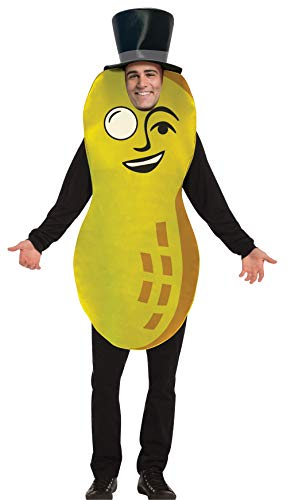 Planters Mr. Peanut Costume Mens Womens Dress Up Cosplay Party Costumes, Adult One Size
