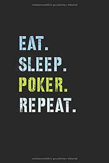 Poker Notizbuch: Poker Geschenk Notizbuch Tagebuch Planer Notizblock 120 punktierte Seiten 6x9 Zoll (ca. DIN A5) Geschenkidee