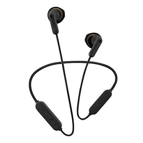 JBL Tune 215 Auriculares inalámbricos con Bluetooth, Sonido Pure Bass y conexión multipunto, batería de 16 horas con carga rápida, color negro