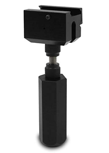 """LethalEye Adjustable Picatinny Monopod, Height Adjustable Picatinny Precision Monopod 4""""-6"""""""