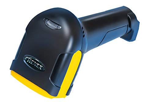 HENEX HC-2000 1D 2D Barcode Scanner Handheld Barcode and QR Code Scanner USB Wired Barcode Reader High Speed Bar Code Scanners Use for Stores Supermarkets Warehouses