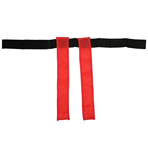Vbest life Kid Chasing Ribbon Toy, Red Infant Sensory Integration Pädagogische Pull Tail Training Ribbon Belt für Kinder