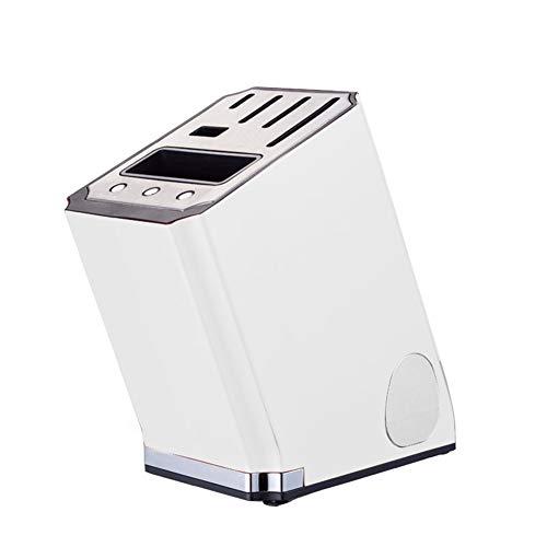 CJF volautomatisch, intelligent ontsmettingsapparaat voor keukenmessen, blok, automatische droger, met scherpte (zonder messen)