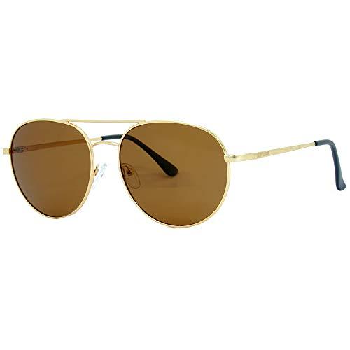 Óculos de sol,POL0116-C5,Hang Loose,Adulto unissex,Dourado,Único