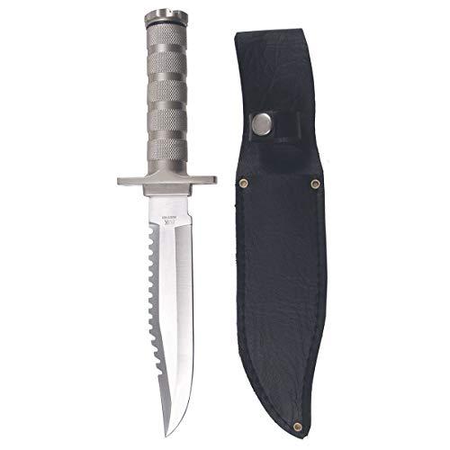 BKL1® Outdoormesser Saw von Fox mit Sägezahnung Jagdmesser Machete Dosenöffner