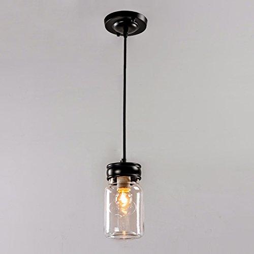 WWW glazen fles, kroonluchter, LED, restaurant, café, kroonluchter van glas, creatief, modern, eenvoudig, woonkamer, restaurant, lamp met één kop, ideaal voor woonruimtes, plafondlamp