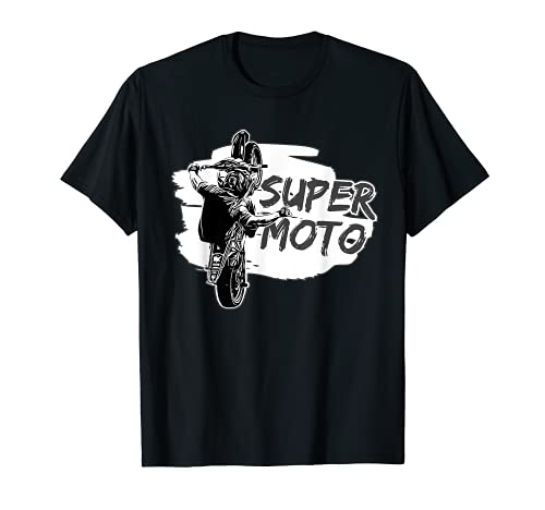 Supermoto Supermotard / Motociclista / Supermoto Exc Gift Camiseta