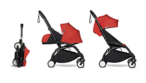 Best Review Of BABYZEN YOYO2 Complete 0+ and 6+ Stroller - Black Frame with Red Fabrics