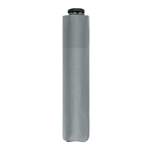 doppler Taschenschirm Zero,99 – Gewicht von nur 99 Gramm – Stabil – Windproof – 21 cm – Cool Grey