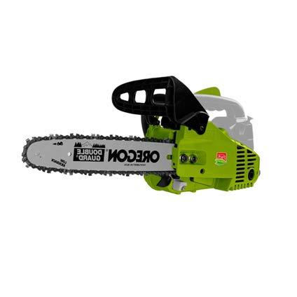 CENTRAL PARK Motosierra de Gasolina CPT2530CS - 25cc - 23 m/s de Velocidad - la Hoja 30 cm - Verde/Gris