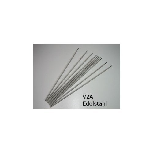 HUW24 rutile Schweißelektroden Edelstahl V2A 2,0 mm 10 Stück (Edelstahlelektroden 308L)