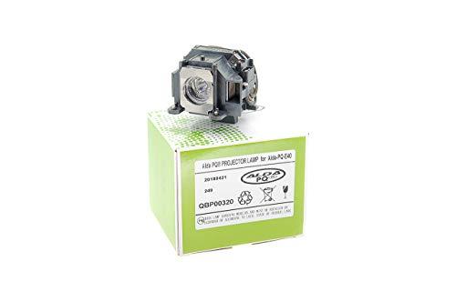 Alda PQ-Premium, Beamerlampe / Ersatzlampe für EPSON EMP-1825 Projektoren, Lampe mit Gehäuse