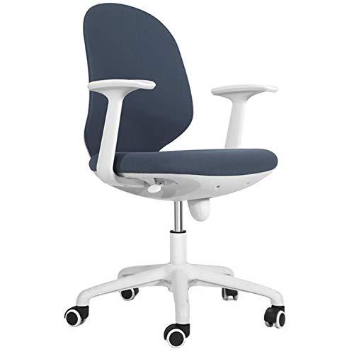 BIAOYU Sedia da ufficio moderna e minimalista per computer, sedia ergonomica da gioco, sedia girevole con braccioli, 5 tavolini e sedie (colore: 1)