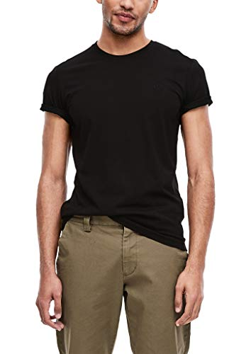 s.Oliver Herren 2er-Pack Crew Neck-Shirts Black S