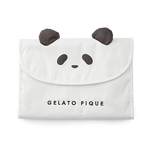 (ジェラートピケ)gelato pique パンダ母子手帳ケースM ジェラピケ ジャバラ(OW-オフホワイト、Free)