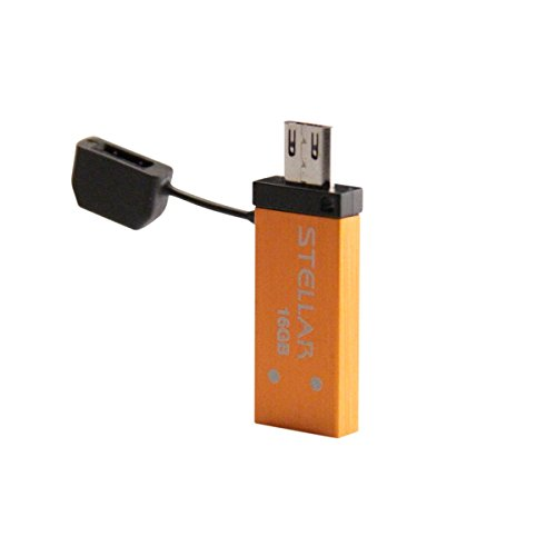 Patriot Stellar 16GB USB 3.0/USB OTG Flash Drive For Android Tablets and Smartphones - Up To 140MB/s Transfer Speeds