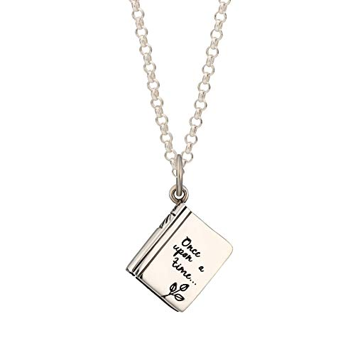 Lily Charmed - Sterling Silver Story Book Necklace