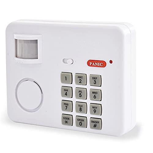 Fishtec SAL0045 Sensor para Exteriores-Kits de Seguridad Alarma inalámbrica para el hogar con Detector de Movimiento SafeAlarm-SAL0045 SCS Sentinel, Blanco