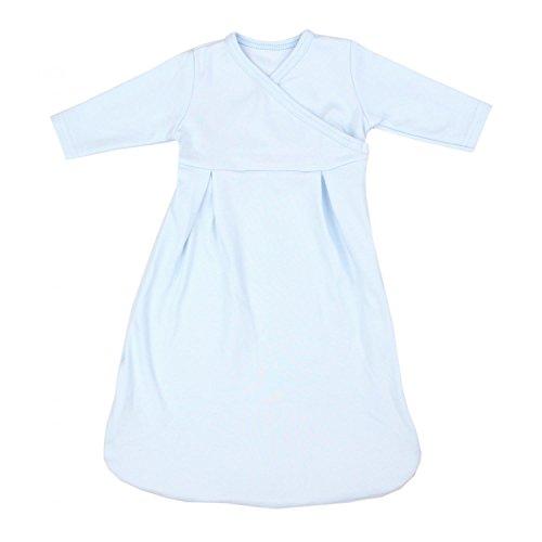 TupTam Baby Unisex Langarm Innenschlafsack, Farbe: Blau, Größe: 62-68