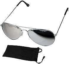 نظارة شمس افييتور للجنسين، رمادي