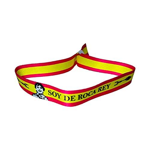 PULSERA TORERO SOY DE ROCA REY BANDERA ESPAÑA