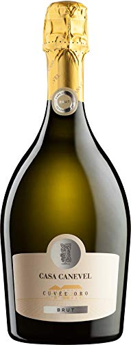 Casa Canevel Cuvée Oro Spumante brut Prosecco Schaumwein Italien (6 Flaschen)
