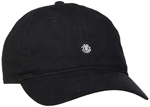 Element U5CTB5 Fluky Gorra Dad para Hombre, All Black, Talla única