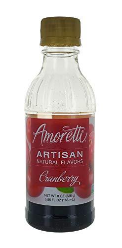 Amoretti Cranberry Artisan Fruit Puree 8 Oz