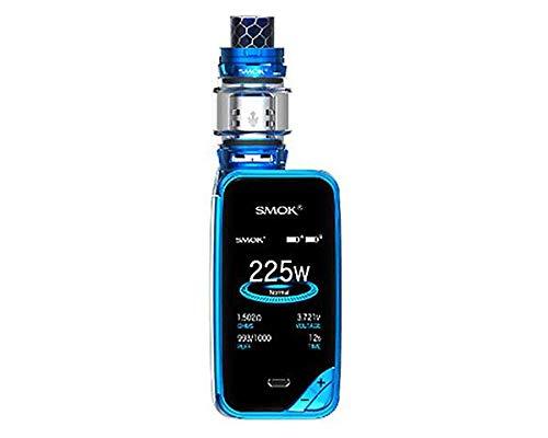 Autentico SMOK X PRIV Kit 225W TFV12 PRINCE 8mL Tank (Blu) SMOK XPRIV Senza Nicotina