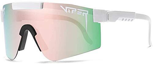 Viper Pit Gafas de sol polarizadas UV400 para hombre y mujer, gafas de sol deportivas de béisbol al aire libre