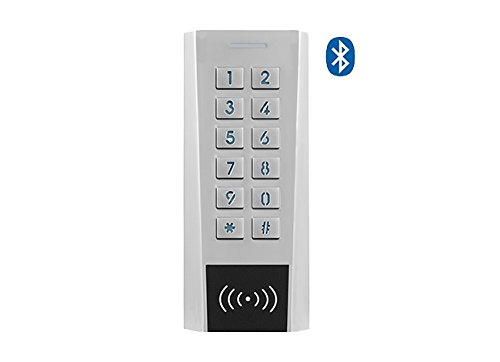 Preisvergleich Produktbild Secukey xk4-bt Zutrittskontrolle RFID Pin,  IP66,  Bluetooth,  App Free und Standalone,  Silber