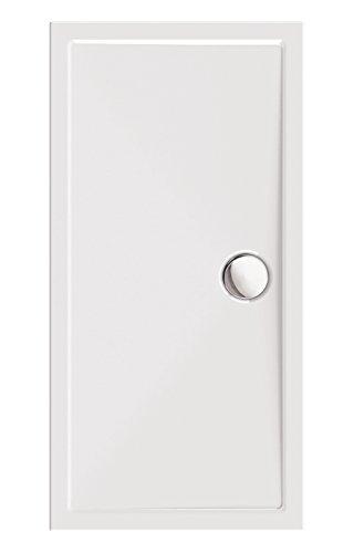 \'aquaSu® Acryl-Dusch-Wanne tEso 70 | Duschwanne | Brausewanne | Badezimmer | Weiß | 140 x 70 cm